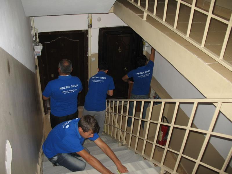 Temizlik şirketi bina ve apartman temizlik hizmeti